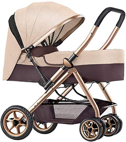 Read About Ranzorh Baby Stroller Carrycot Travel System Foldable Infant Pushchair with Reversible Ba...