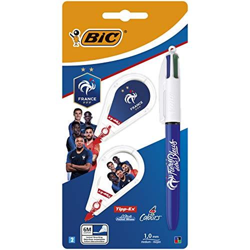 BIC FFF - Kit de escritura – 1 bolígrafo BIC 4 colores...