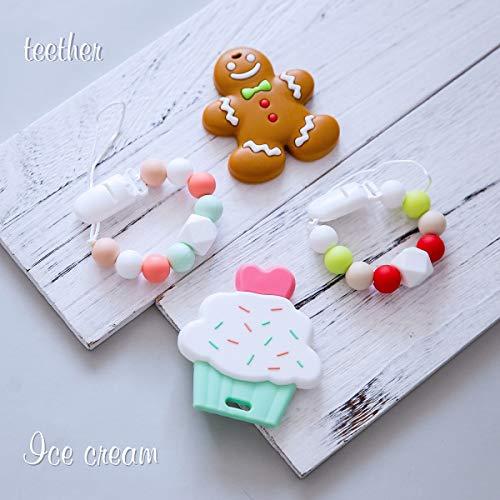 Promise Babe おもちゃホルダー シリコン カップケーキ かわいい ブランケットホルダー スタイホルダー バッグホルダー 落下防止 紛失防止 おもちゃ 出産お祝い ギフト