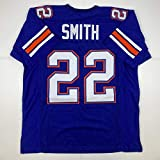 Unsigned Emmitt Smith Florida Blue Custom Stitched College Football Jersey Size Men's XL New No Brands/Logos