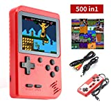 Handheld Game Console, Dhaose Retro Mini Game Player with 500 Classical FC Games