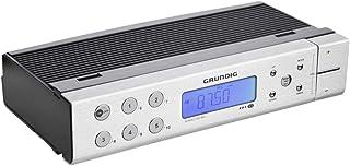 Grundig Sonoclock 890 - Radio (Reloj, Digital, 64-108 MHz, LCD, Plata, Aluminio)