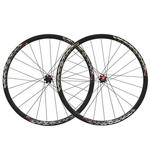 LLLKKK Juego de bicicletas de montaña de 26IMCH, aleación de aluminio, llantas de doble pared, freno de disco de liberación rápida, 8/9/10/11