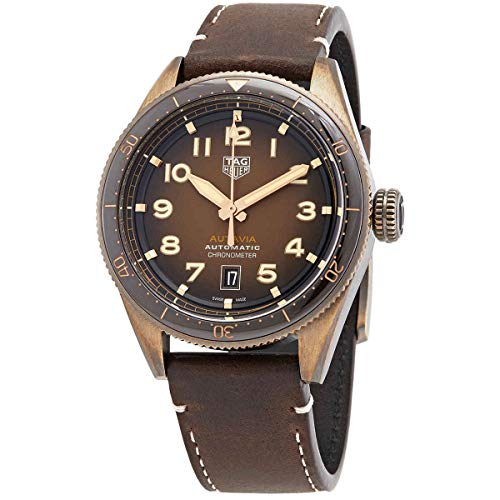 Tag Heuer Autavia Automatic Brown Dial Men's Watch WBE5191.FC8276