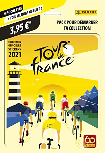 Tour de France 2021 - Juego de 4 Fundas y álbum de Regalo