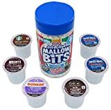 Hot Cocoa K-Cups Variety Pack with Marshmallow Bits (6 Varieties / 18 Total K-Cups)