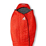 Eddie Bauer - Saco de Dormir Unisex para Adulto, diseño de Ardilla voladora, Color Rojo