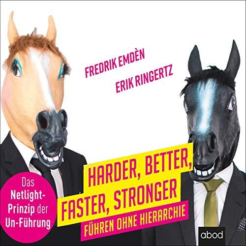 Harder, Better, Faster, Stronger audiobook cover art