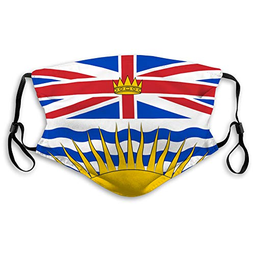 Why Choose DISGOWONG Adjustable Safety Covers for Most People Flag British Columbia in Canada Travel...