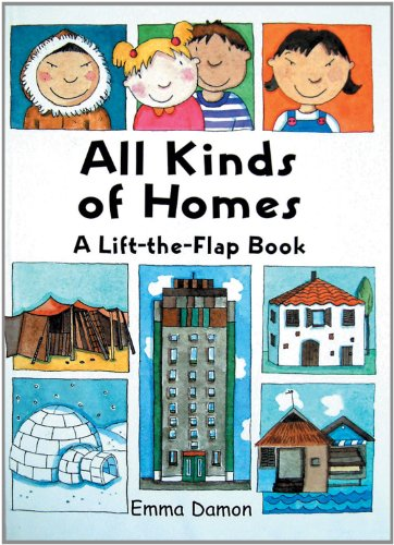 Maclaren, T: All Kinds of Homes: A Lift-the-Flap Book (All Kinds of... S.)