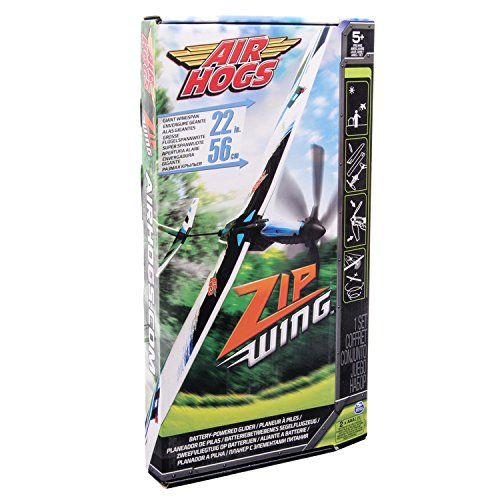 Air Hogs- Aereo Zip Wing, Multicolore, 6020866