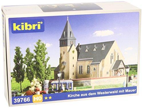 Kibri 39766 - H0 Kirche mit Mauer aus dem Westerwald