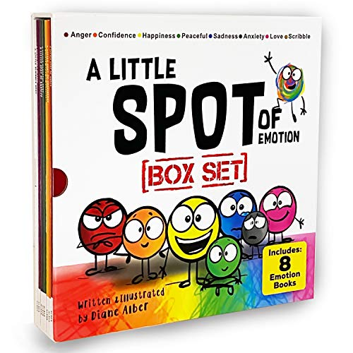 Compare Textbook Prices for A Little SPOT of Emotion Box Set 8 Books  ISBN 9781951287139 by Diane Alber