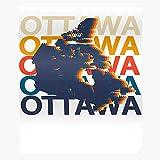 POUSADA Souvenir Vintage Country Canada Souvenirs Retro
