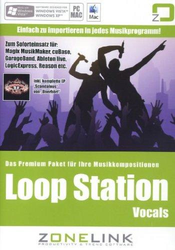Cd-Rom Loop Station Vocals