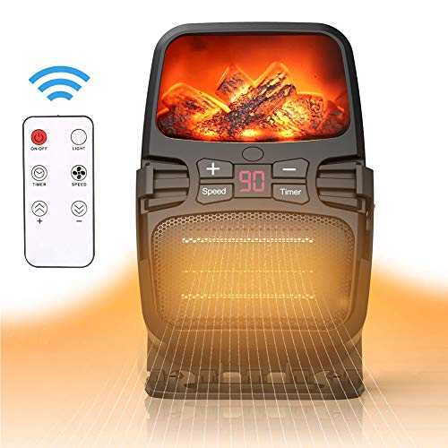 Sale!! JRDXFS Portable Electric Heater Heater Fan Household Desktop Winter Warmer Heating Machine Fl...