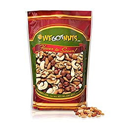Image of Raw Deluxe Mixed Nuts 3 Lbs, in Resealable Bag, We Got Nuts: Bestviewsreviews