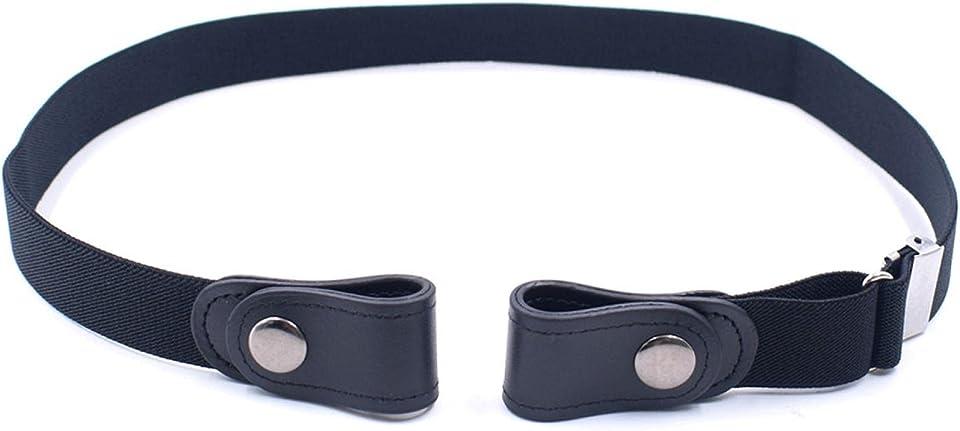 Unisex Keine Stretchgürtel Verstellbar Keine Unsichtbarer Elastischer Gürtel für Jeans Hosen Röcke,Schnallenfreier Verstellbarer Gürtel Ohne Schnalle für Damen oder Herren