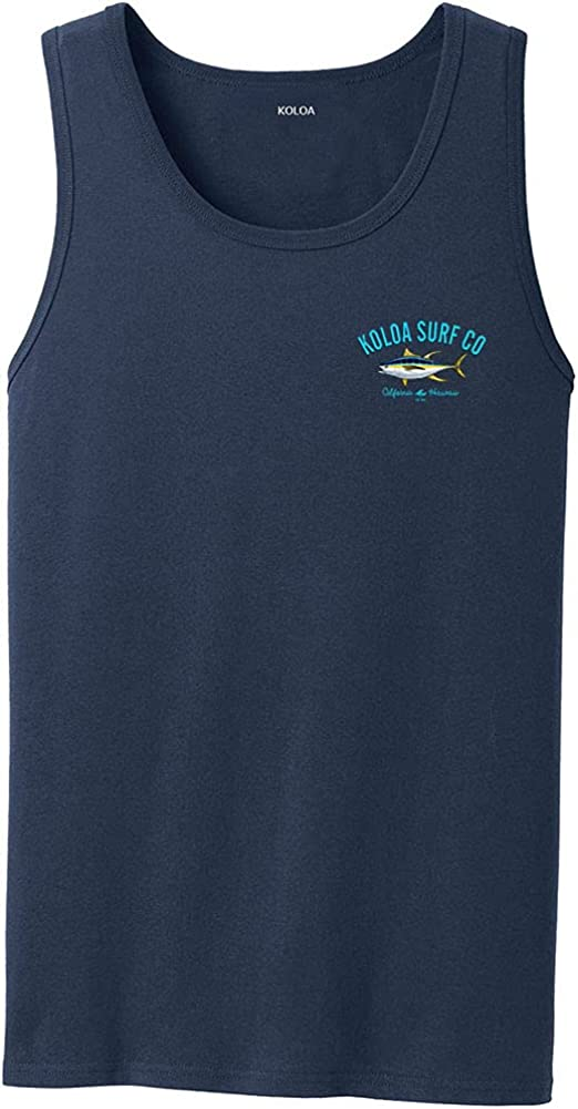 Koloa Surf Custom New sales Graphic Tank Sizes in Tops S-4XL Bombing new work