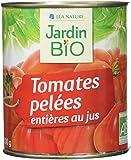 Jardin Bio Tomates Entières Pelées au Jus 800 g