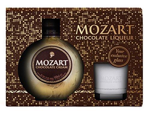 Mozart Chocolate Cream 0,5l mit exklusivem Likörglas