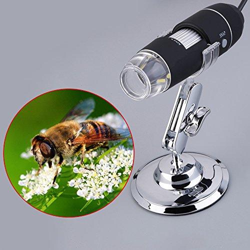 China - Microscopio endoscópico de 5 MP USB 8 LED para cámara Digital con Lupa de 50 x 500 aumentos