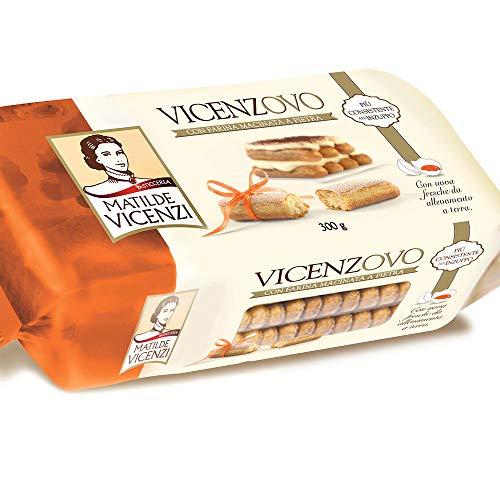6x Matilde Vicenzi Savoiardi Vicenzovo Kekse für kuchen tiramisù Löffelbiskuits 300g
