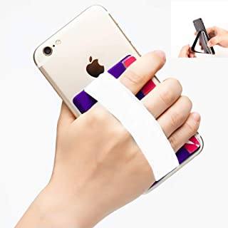 YMHML Phone Grip Card Holder for Back of Phone, Credit Card Holder Stick-On Wallet by 3M Self Adhesive Safety Finger Strap...
