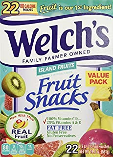 Welch's Island Fruits Pouches - 22 Pouches by Welch's