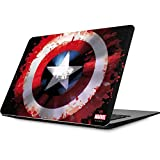 Skinit Decal Laptop Skin for MacBook Air 13.3 (2010-2017) - Officially Licensed Marvel/Disney Captain America Shield Design