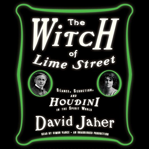 The Witch of Lime Street audiobook cover art