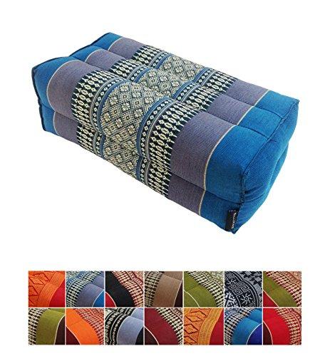 Collumino® Traditional Thai Kapok Yoga Support Block Cushion...