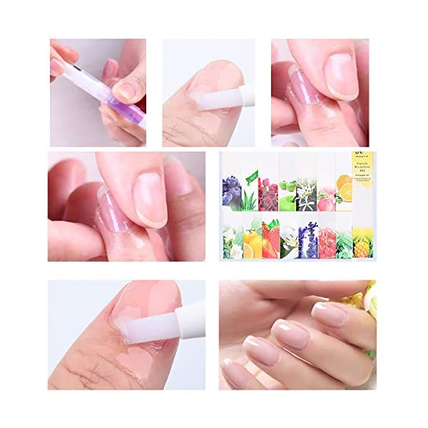 Beauty Shopping Thenxin Cuticle Oil Pen & Nail Strengthener Cuticle Softener Oil Pens with Brush
