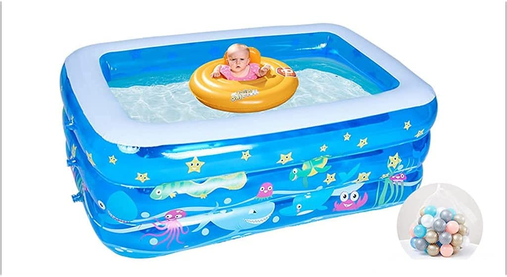 LUXMAX Beautiful Inflatable Swimming Full-Sized Family Infl Max 61% OFF latest Pool
