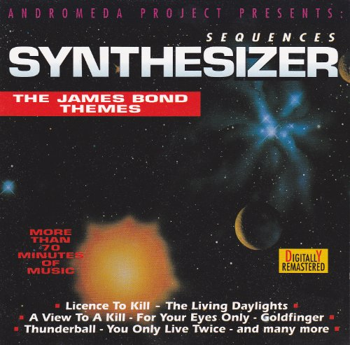 CD - Sequences, Synthesizer - The James Bond Themes