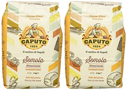 Caputo Sémola de trigo duro harina de sémola rimacinata 2 2 paquetes
