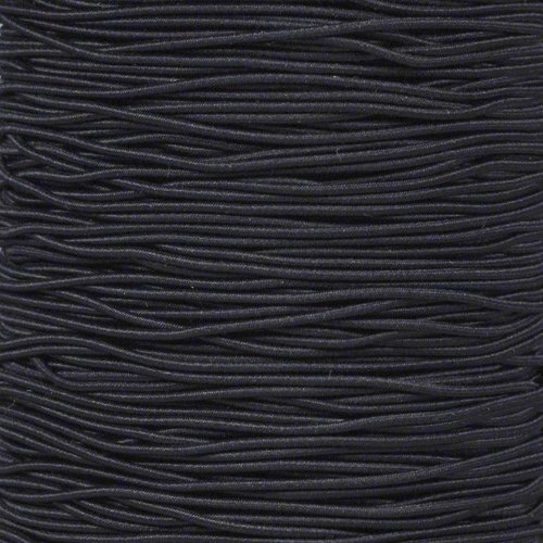 """PARACORD PLANET Elastic 1/16"""" Diameter Stretch String Bungee Shock Cord in 10, 25, 50, 100 Feet Options"""