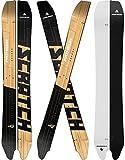 Pathron Snowboard Splitboard Scratch Split inkl. Clips und Hooks 2020 (165cm)