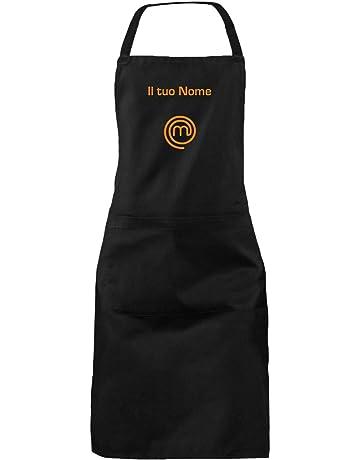 bianco per donne e uomini in vita cravatta cucina ristorante per donne uomo unisex chef bacio il cuoco o no cena Grembiule con bavaglino con 2 tasche regolabili