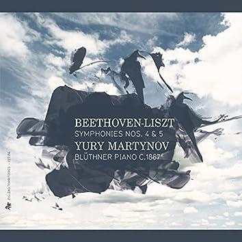Beethoven-Liszt: Symphonies Nos. 4 & 5