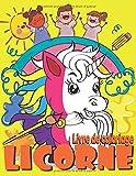 Licorne Livre de Coloriage: Pour les Enfants de 4 à 8 Ans (49 images) 8.5-11 in