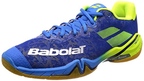 Babolat Badmintonschuh Shadow Tour Men 2018 Blau Topmodell (46)