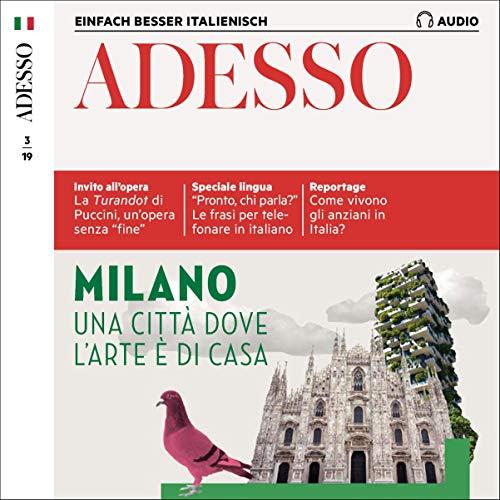 ADESSO Audio - Milano. 3/2019 Titelbild