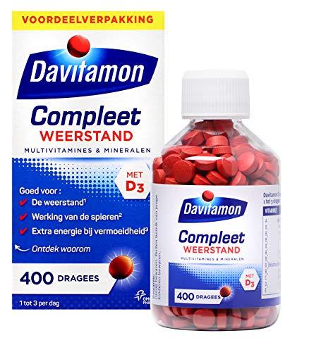 Davitamon Compleet Weerstand met vitamine D en C - Multivitamine - 400 tabletten