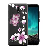 Trihey for Nokia 3.1C case,Nokia 3.1A case. Flexible Soft TPU Case with Fashionable Painted Pattern Designs for Nokia 3.1C /3.1A case. (Flower)