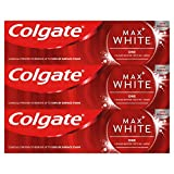 Colgate Max White One Whitening Toothpaste 3 x 75 ml Multipack