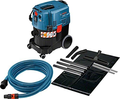 Bosch Professional 06019C3100 Aspirateur Industriel GAS 35 M AFC (1200 W, Cuve de 35 L, Flexible de 5 m, dans Carton)