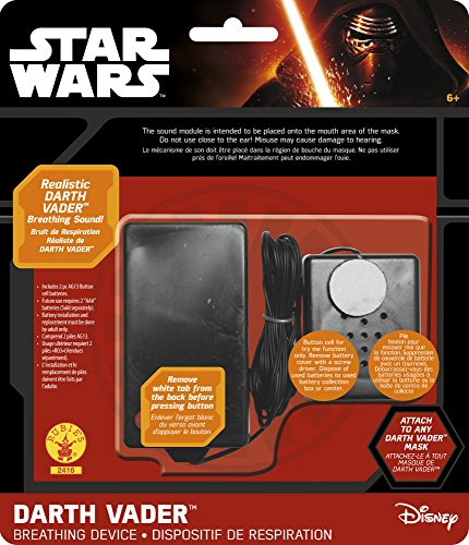 Rubies Star Wars Darth Vader Sound Effects Device