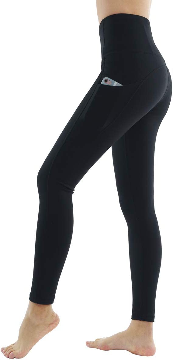 Dragon Fit High Waist Yoga Leggings with 3 Pockets