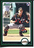 Buster Posey Unsigned 2010 Bowman Rookie Card - Baseball Slabbed Rookie Cards